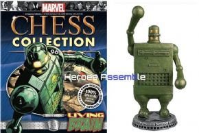 Marvel Chess Collection #96 Living Brain Eaglemoss Publications